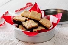 Layered Peppermint Fudge