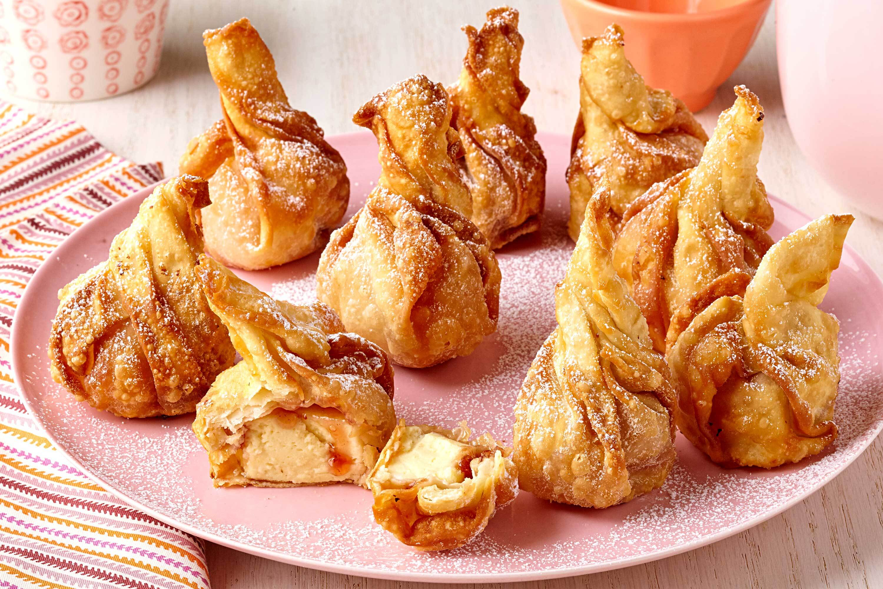 Deep-Fried Cheesecake Pastries