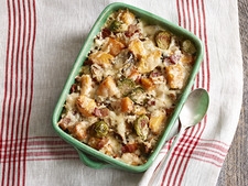 Bacon-Brussels Sprouts Gratin