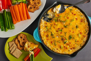 Baked Bacon, Garlic & Herb Dip