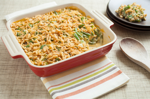 Favorite Cheesy Green Bean Casserole