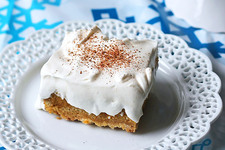 Pumpkin Dump Cake with Pudding Topping