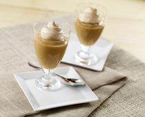 10-Minute Cappuccino Pudding Cups