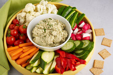 Roasted Eggplant and ATHENOS Feta Dip
