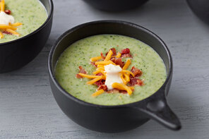 Cream of Broccoli, Bacon & Potato Soup