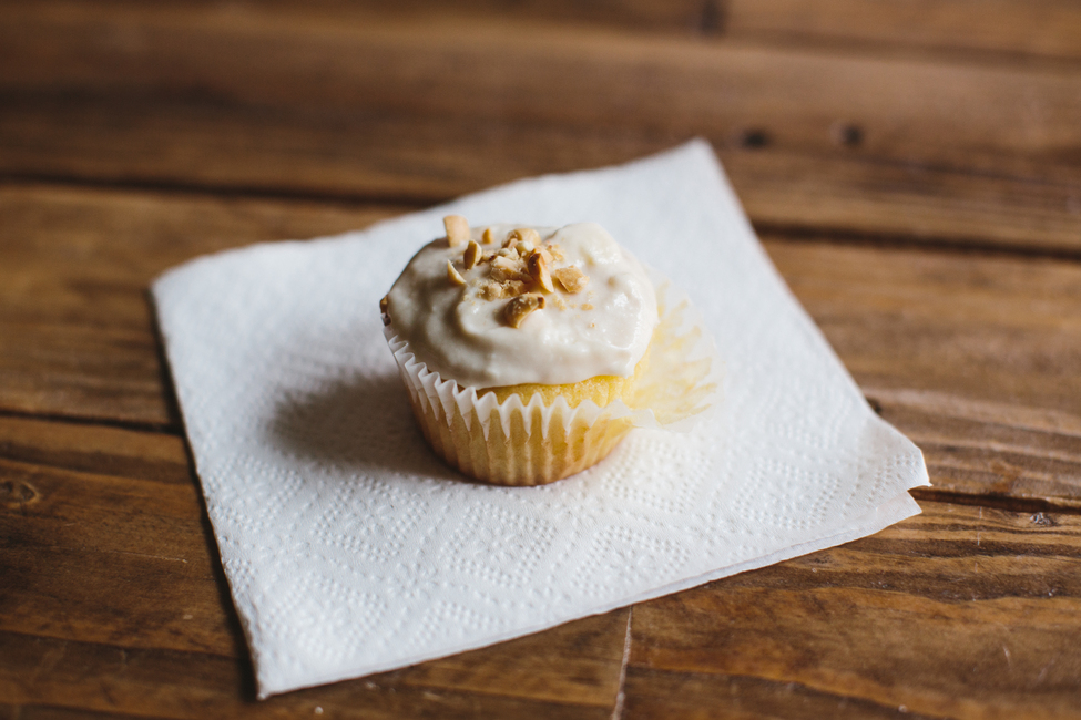 Easy Peanut Butter-Banana Cupcake Recipe