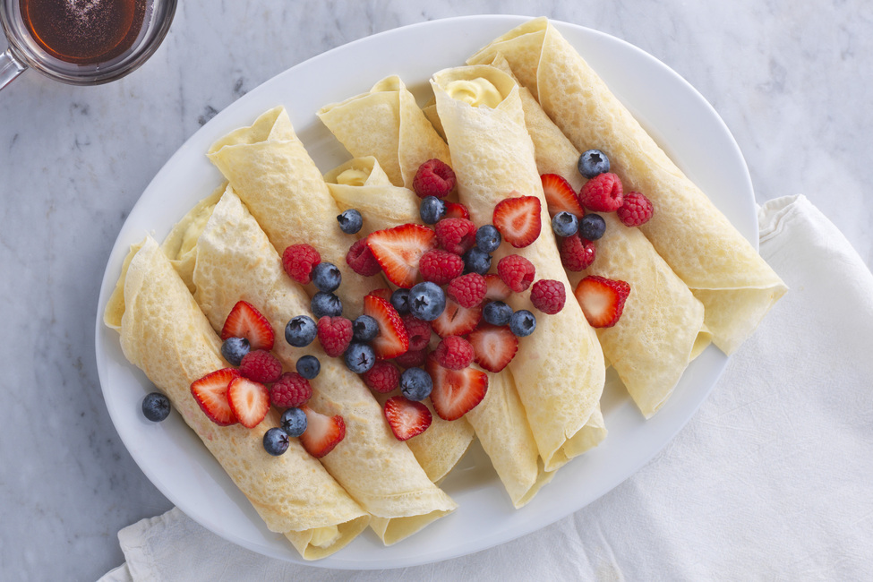 Fresh Berry Brunch Crêpes