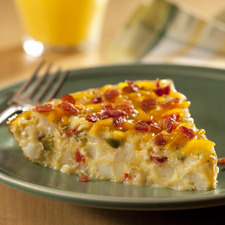 Egg, Potato and Bacon 'Skillet Bake'