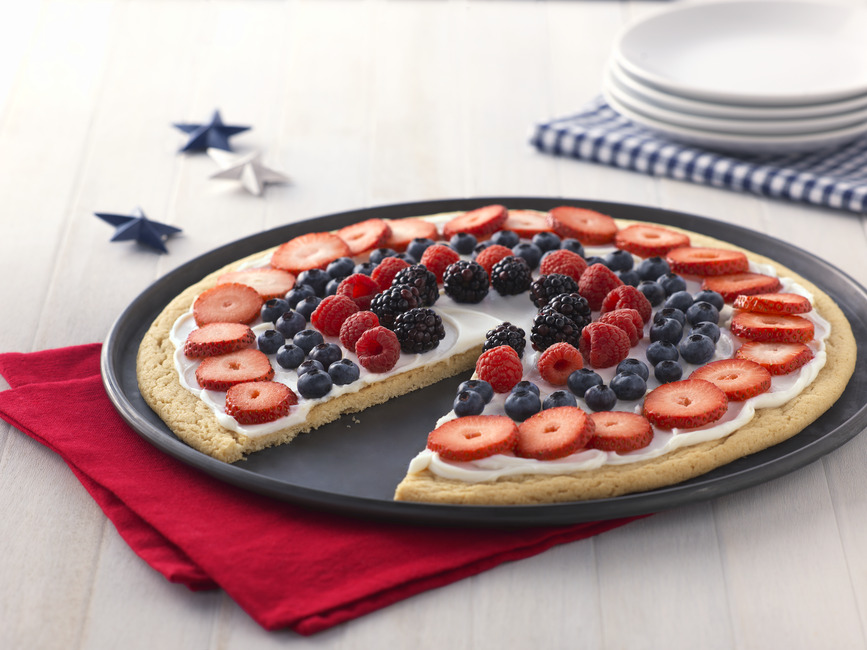Fourth Of July Fruit Pizza My Food And Family