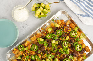 Steak Taco Totchos
