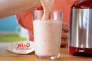 Strawberry-Pudding Smoothie