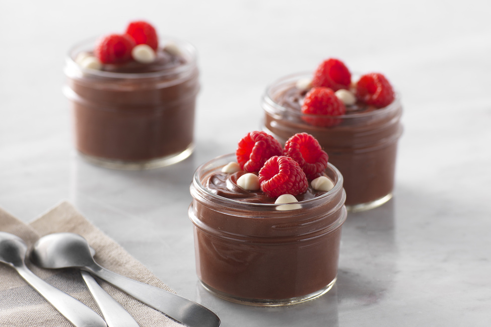 Double Chocolate Pudding Dessert Cups