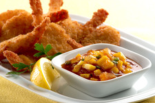 Crispy Shrimp with Mango Chutney