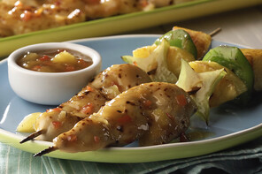 Tropical Chicken-on-a-Stick