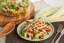 Jerk BBQ Chicken Salad