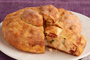 Loaded Potato Stuffed Bread