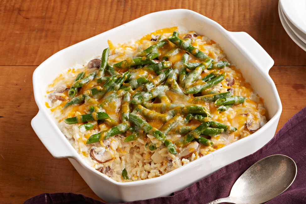 Green Bean and Rice Casserole