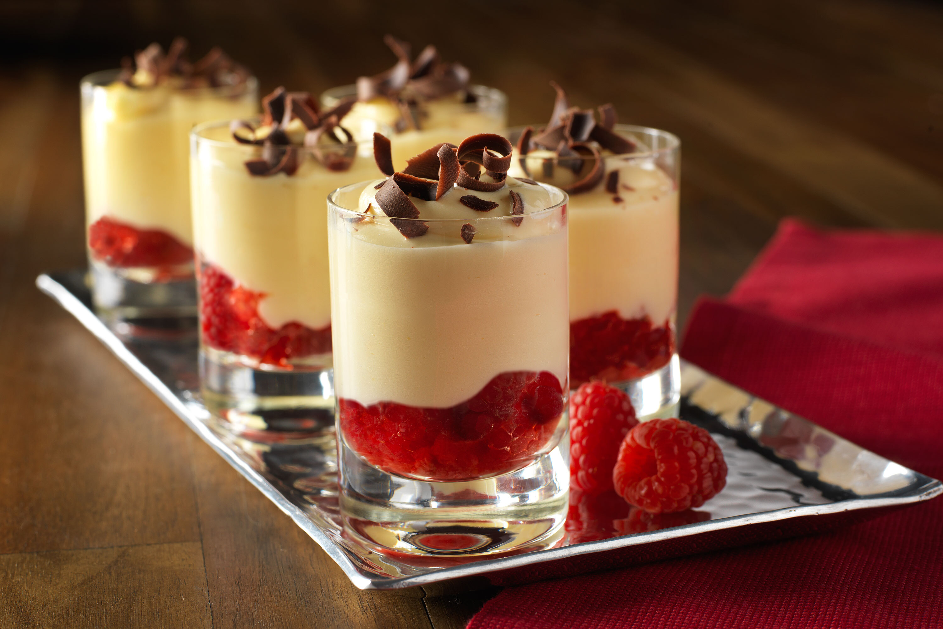 No-Bake Raspberry Cheesecake Cups