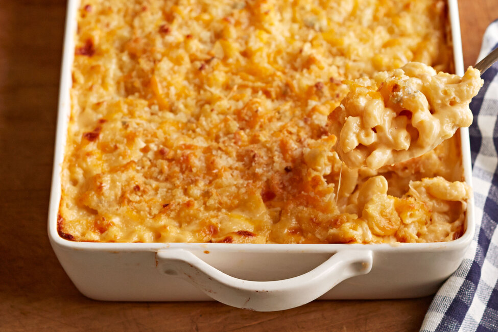 Baked Elbow Macaroni and Cheese