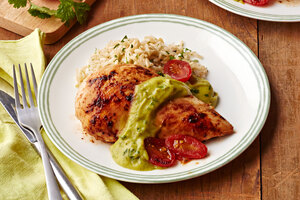 Chicken with Avocado Sauce