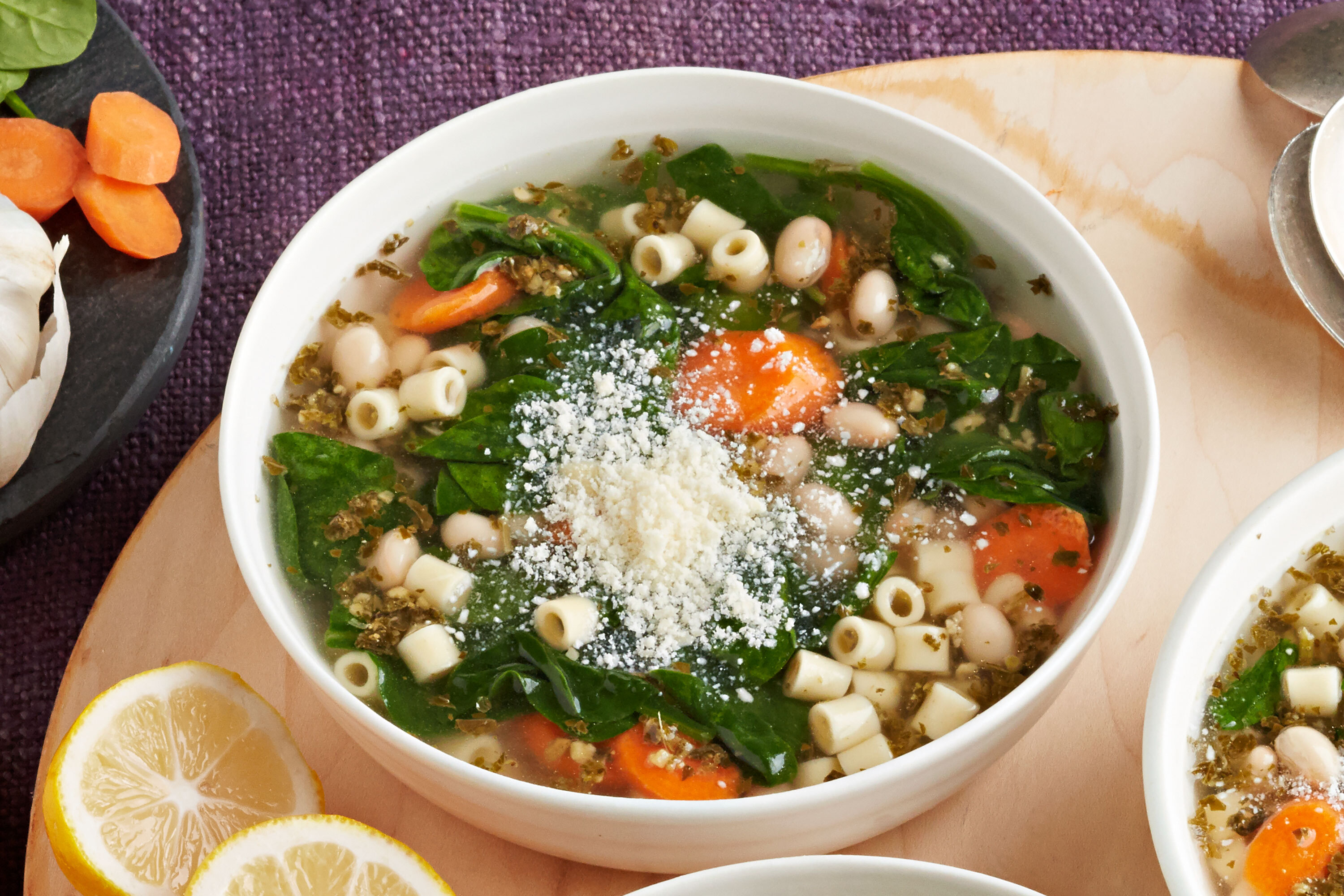 Vegetarian Slow-Cooker Minestrone