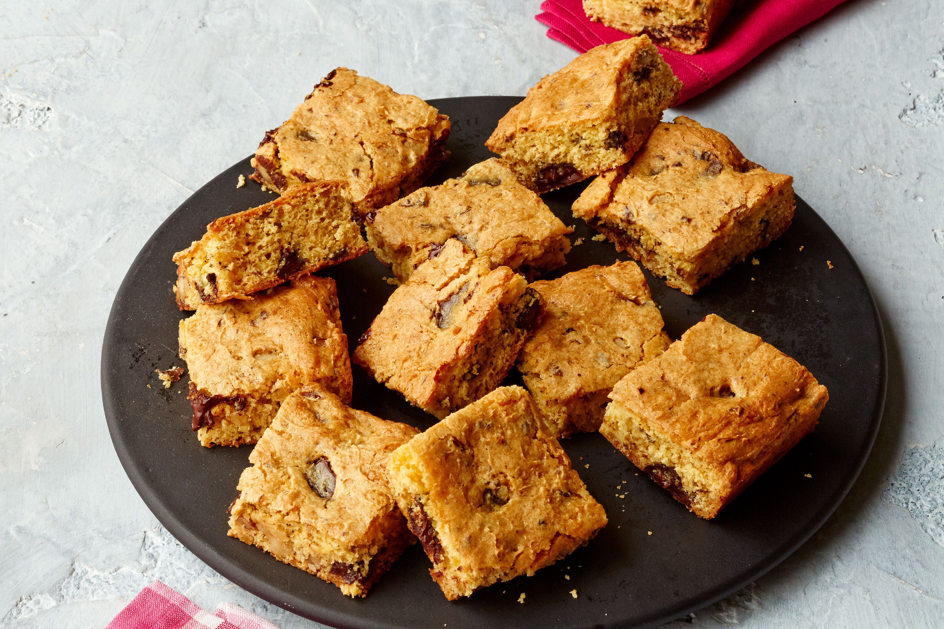 COOL WHIP Walnut Blondies