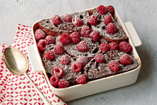 Chocolate-Raspberry Stuffed French Toast Bake