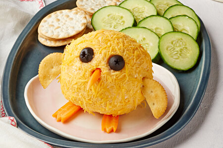 Baby Chick Bacon Cheese Ball