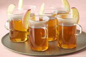 Hot Spiced-Spiked Cider