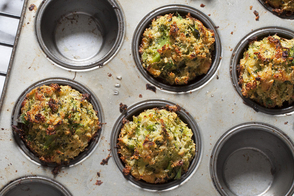 Cheddar-Broccoli Stuffing Cups