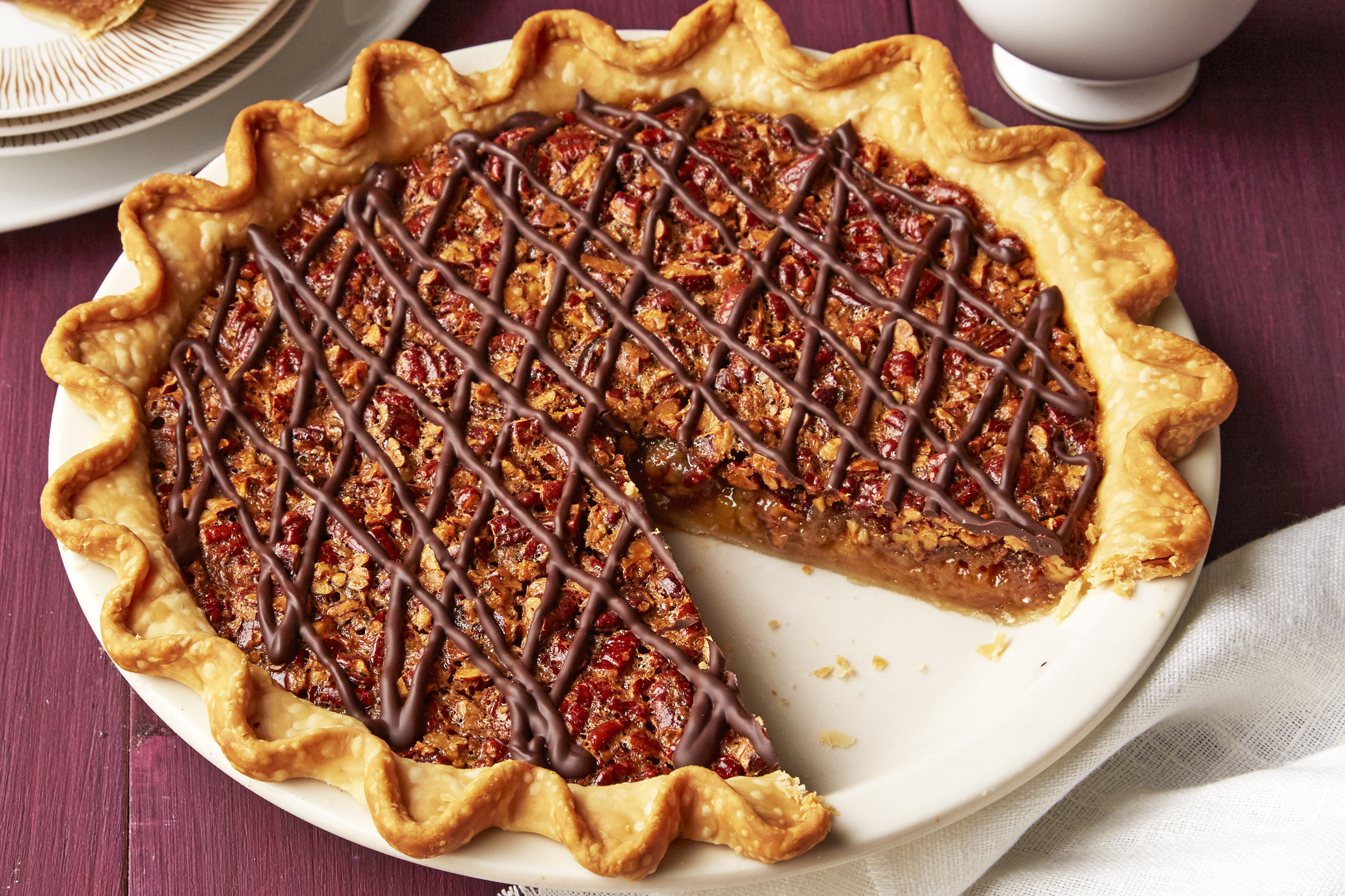 Make-Ahead Pecan Pie