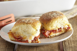 Pepperoni Pizza Sliders