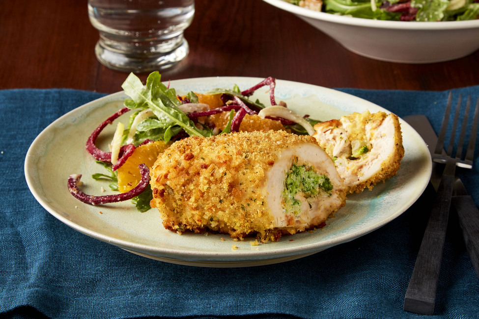 Cheddar Broccoli-Stuffed Chicken