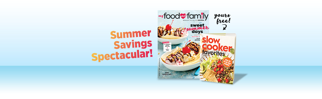 My Food and Family Magazine Offer