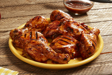 BBQ Cherry Cola Chicken Legs