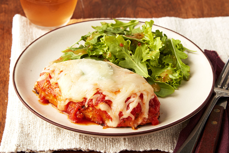 Make-Ahead Chicken-Parmesan Meatloaf