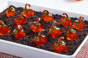 The Great JELL-O® Pumpkin Patch Dessert