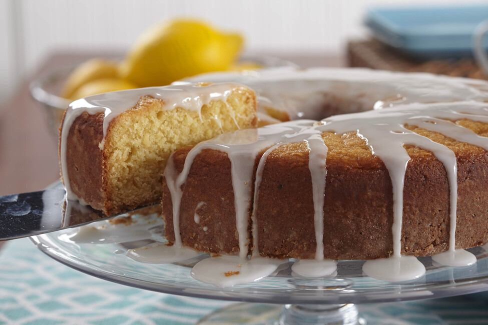 Glazed Lemon Coffee Cake