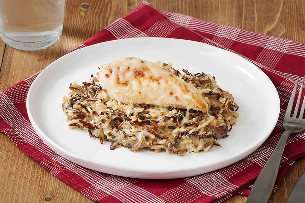 Creamy Chicken with Wild Mushrooms