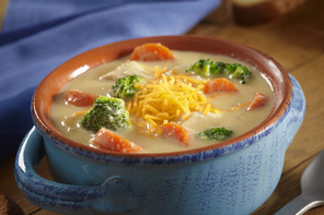 Slow-Cooker Chicken and Broccoli Cheese Soup