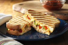 Southwest Chicken Fajita Panini