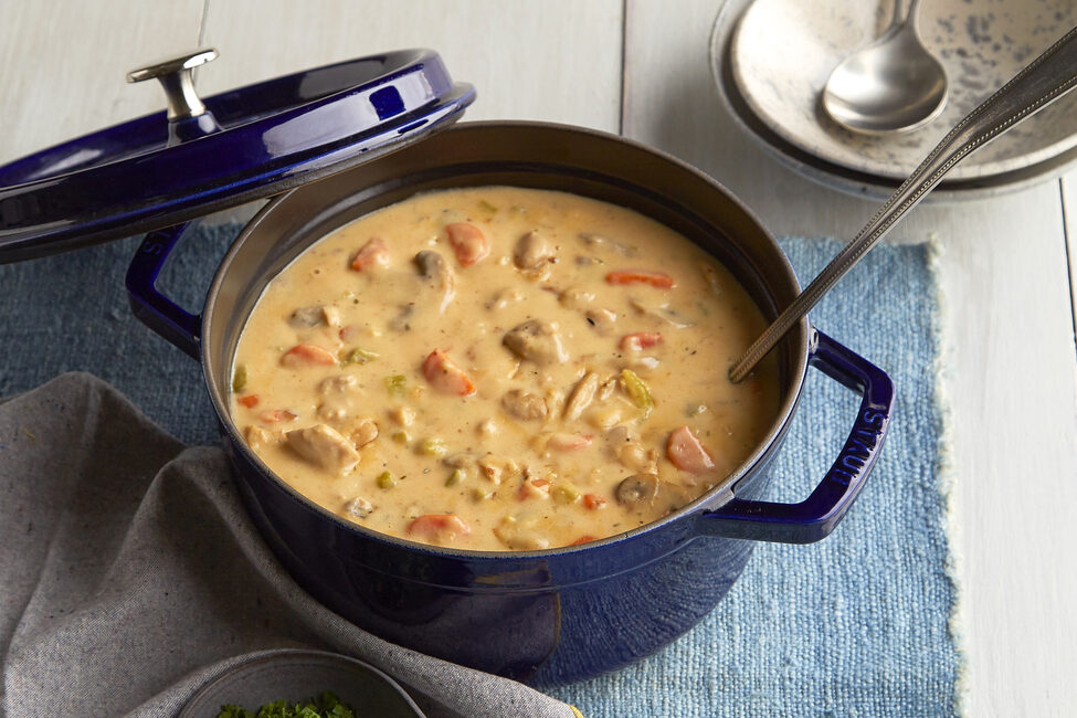 One-Pan Creamy Chicken Stew