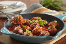 Black Bean 'Meatballs' with Marinara