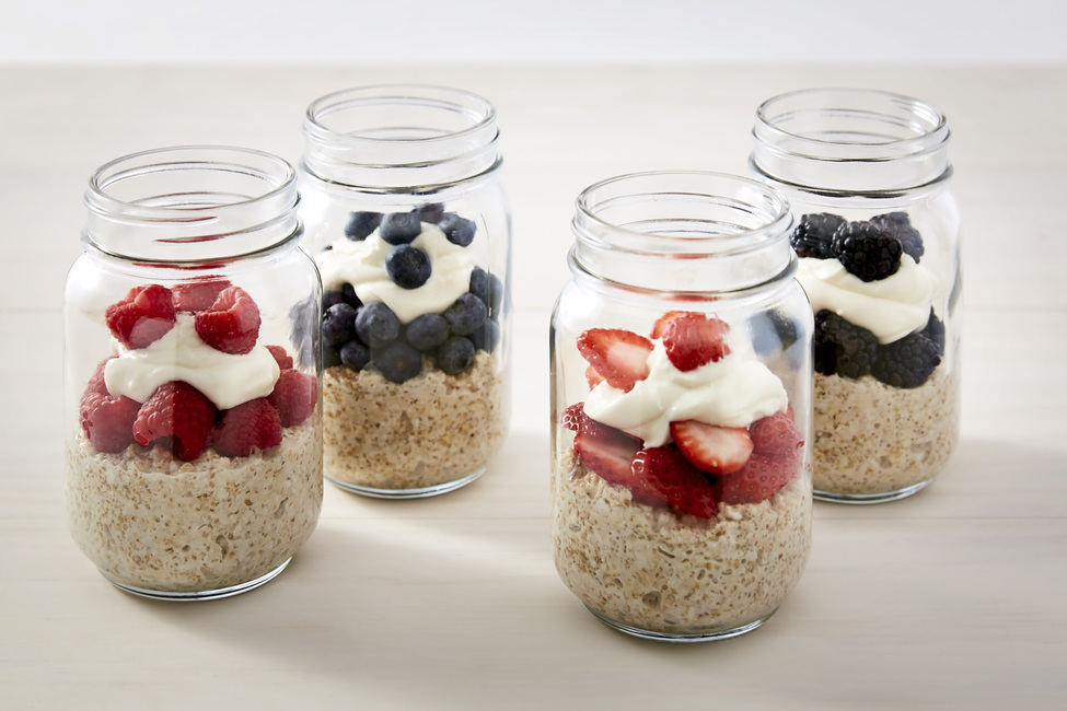 Creamy Berry Overnight Oats My Food And Family