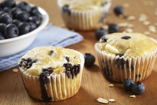 Blueberry Cheesecake Muffins