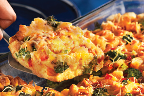 Make-Ahead Bacon and Broccoli Egg Bake