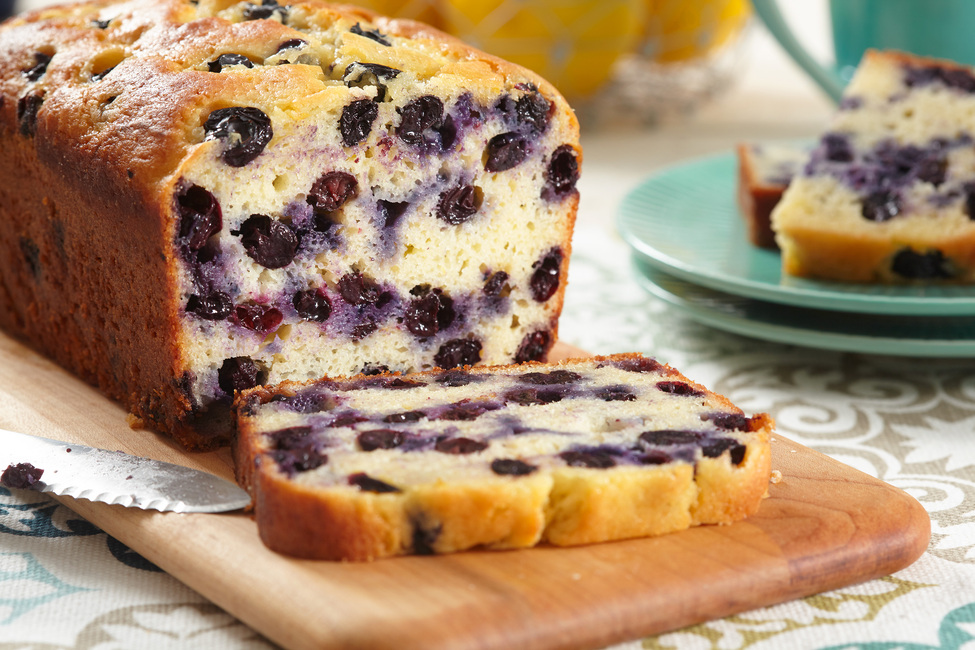 Lemon-Blueberry Bread Recipe