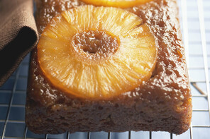 Pineapple Upside-Down Banana Bread