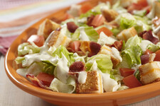 BLT Salad with Grilled Cheese Croutons