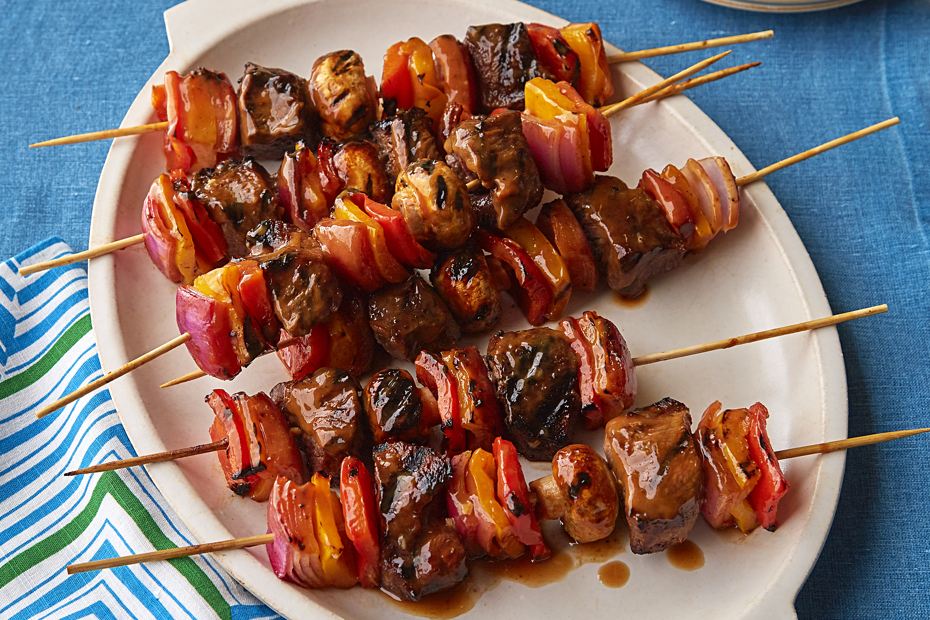 Mom's Beef Shish Kabob Recipe